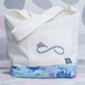 anuzka- torba bawełniana na zakupy