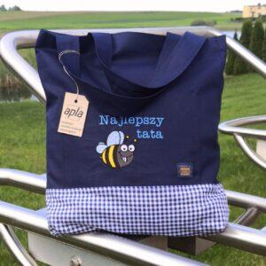 Anużka - torba na zakupy z pszczołą